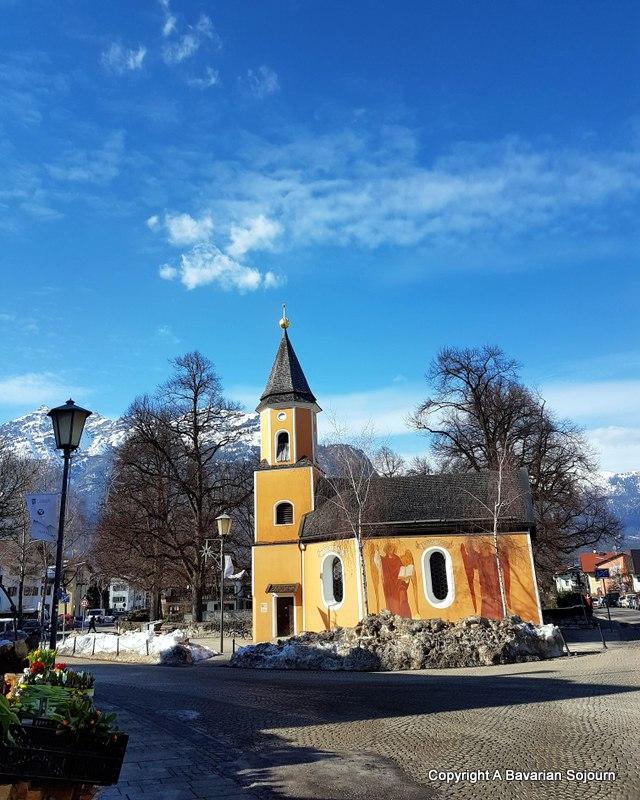 St Sebastian Partenkirchen