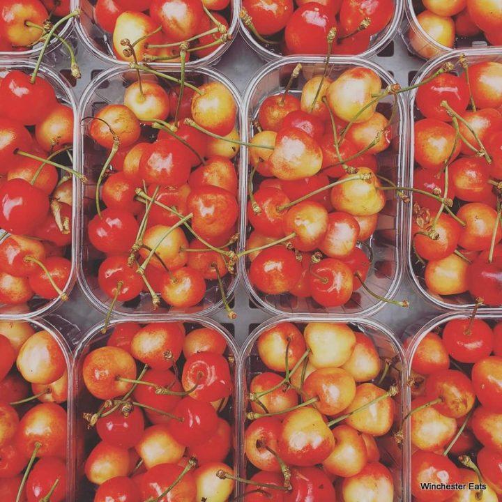 IOW Cherries Winchester Market