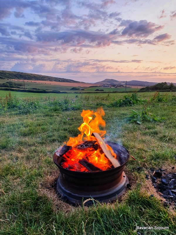 Fire Pit Toms Eco Lodge