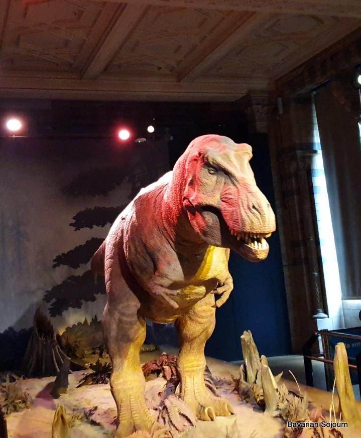robotic t rex natural history museum