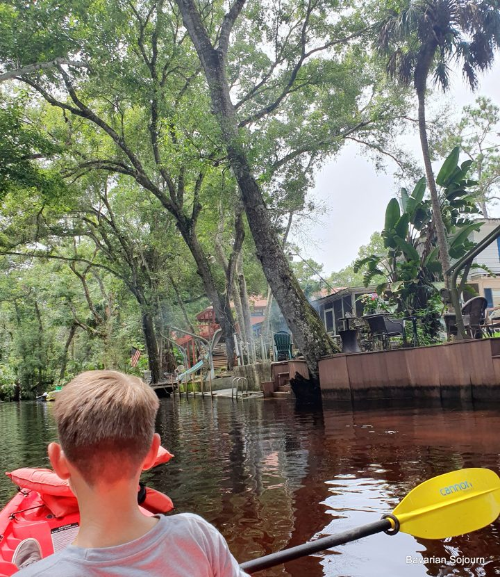 Kayaking Weeki Wachee Springs