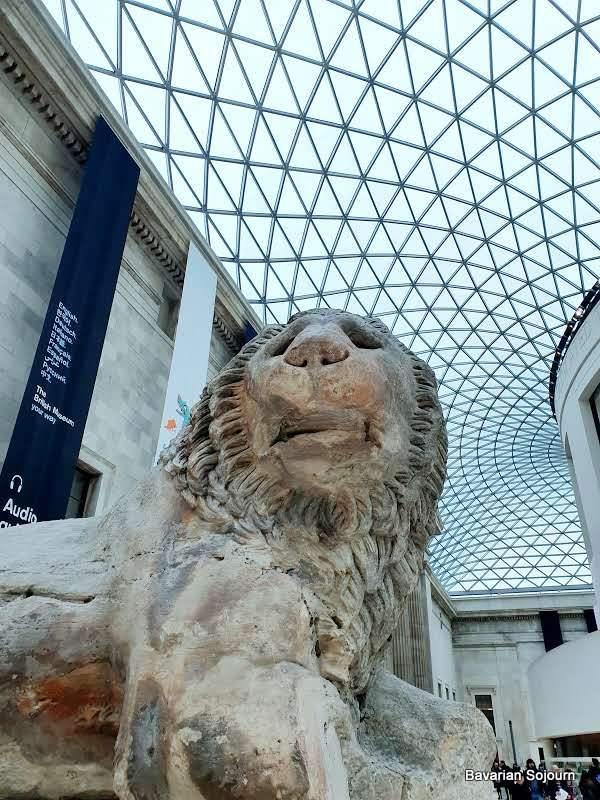 lion british museum