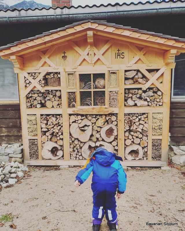 insect house kur park garmisch