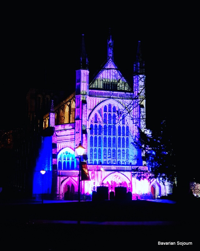 Winchester Cathedral at Christmas