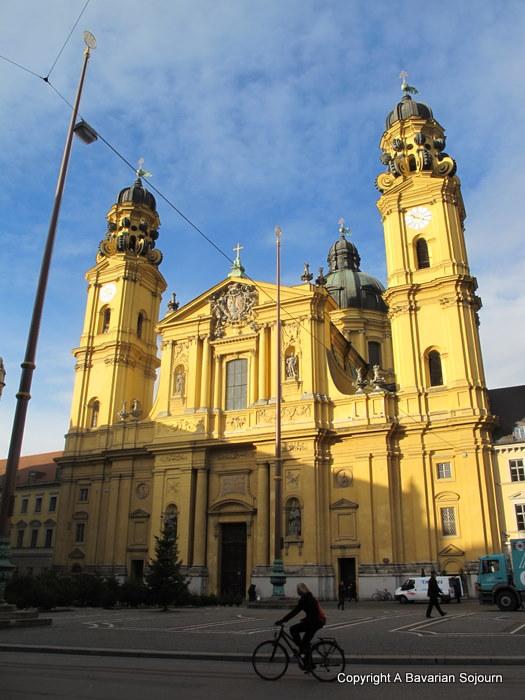 yellow church munich