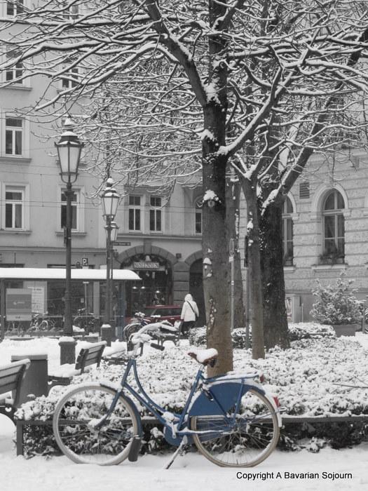 Sunday Photo – Snow Bikes