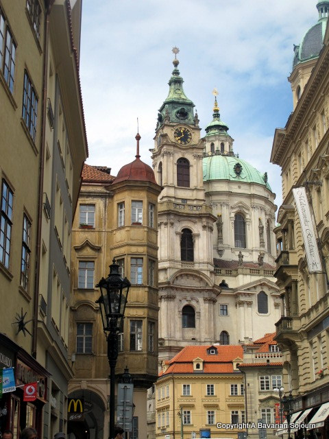 Of Golden Things and Dumplings (Two Days in Prague)…