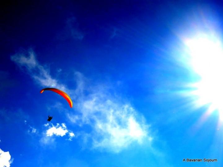 Cloud Busting – Paragliding Bavaria