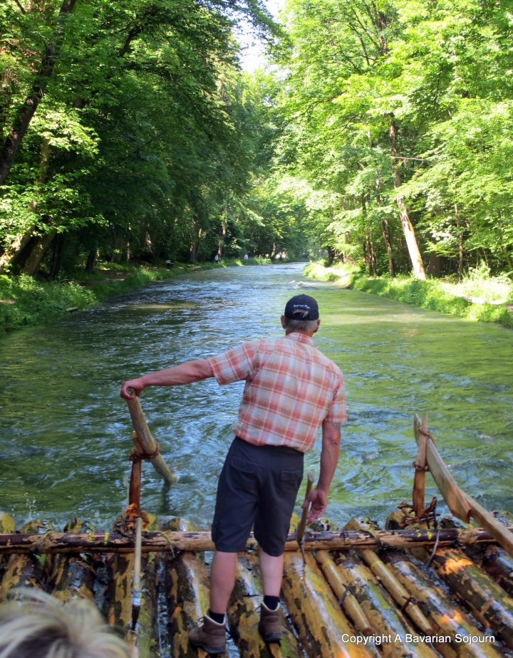 Messing About on the River – Floßfahrt – Bavaria