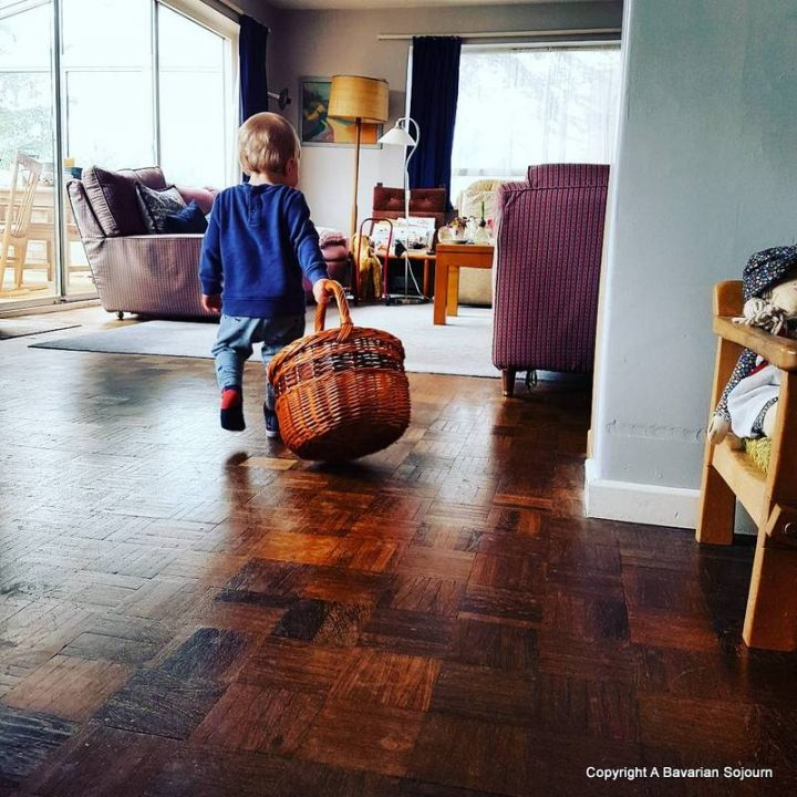 Sunday Photo – Good Things About Being Home