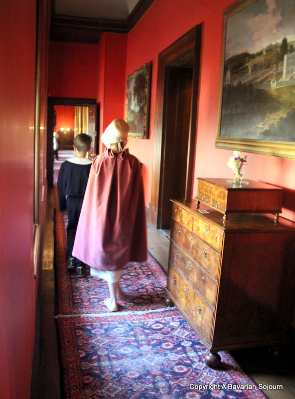 Inspecting Lyme Hall