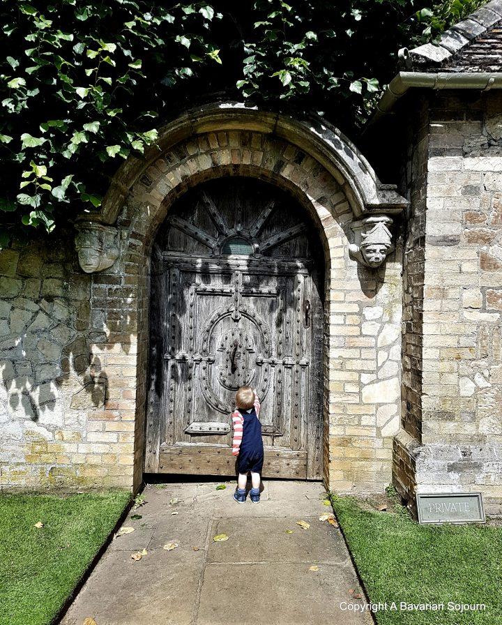 Sunday Photo – Labyrinth Door