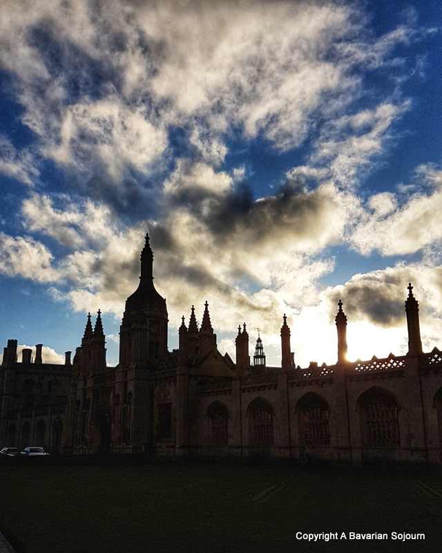 Sunday Photo – Kings College Sunset