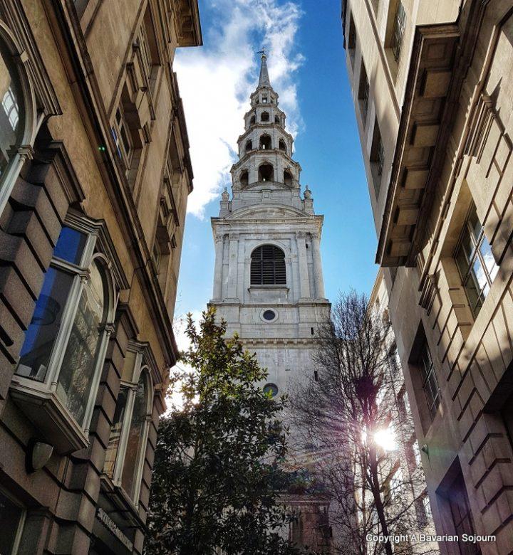 Sunday Photo – Journalist's Church, Fleet Street