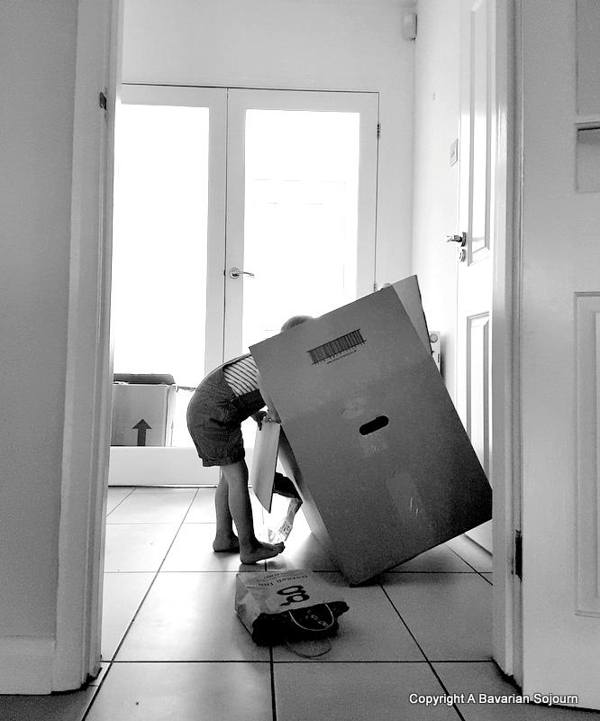 Sunday Photo – Unpacking
